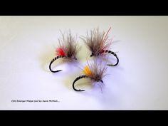 Tying a Small CDC Emerger Midge by Davie McPhail - YouTube