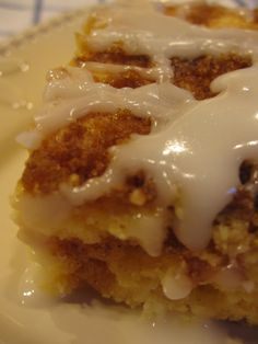 Lighter Honey Bun Cake