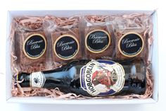 Father's Day gift box - brownies and craft beer. What more could dad want?
