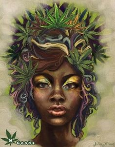 If you know me personally, then you probably know I lite up at the topic of cannabis, hemp and anything medicinal/beneficial coming from this plant. believe in cannabis Black Love Art, Black Girl Art, Art Girl, Photomontage, Dope Kunst, Weed Pictures, Art Pictures, Stoner Art, Stoner Room