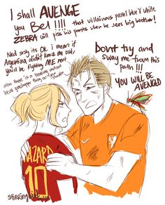 By tumblr user stirringwind. Hetalia Fifa 2014. Belgium and Netherlands. Btw, the grasshopper landed on Colombia's James Rodriguez after he scored a penalty against Brazil during their 2014 World Cup quarter-finals at the Castelao arena in Fortaleza.