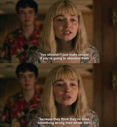 the end of the f***ing world Alyssa Tv Show Quotes, Film Quotes, Romance Quotes, Anne With An E, World Quotes, Movie Lines, Film Serie, Mood, Quote Aesthetic