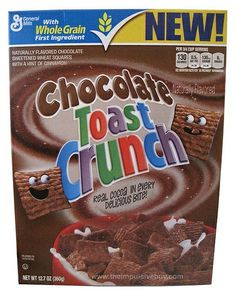 General Mills Chocolate Toast Crunch Cereal