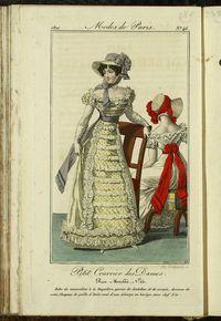 Petit Courrier des Dames : annonces des modes, des nouveautés et des arts del 30 de Abril de 1822
