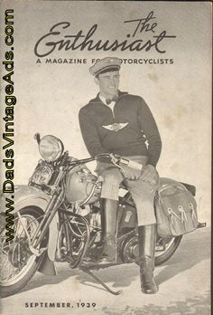 1940 Harley-Davidson Models - They've Got What it Takes!