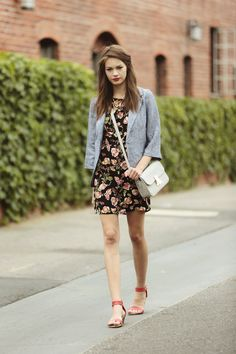 Add femininity to every outfit, especially when wearing menswear.