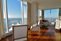 Ritz-Carlton, Suite 4804.183 Wellington St., Toronto. Living room.
