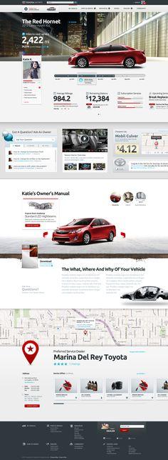 Toyota_2 #webdesign #layout