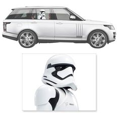 Star Wars First Order Stormtrooper Passenger Car Decal - Fanwraps - Star Wars - Car Accessories at Entertainment Earth