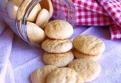 sequilhos de coco (sem glúten e sem açúcar) - Melinda na Cozinha