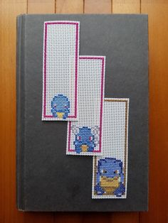 Cross Stitch Bookmarks - Pokemon - Squirtle Evolutions by PupsnPixels on Etsy