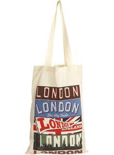 CREAM LONDON PRINT SHOPPER - Topman  Price:£5.00