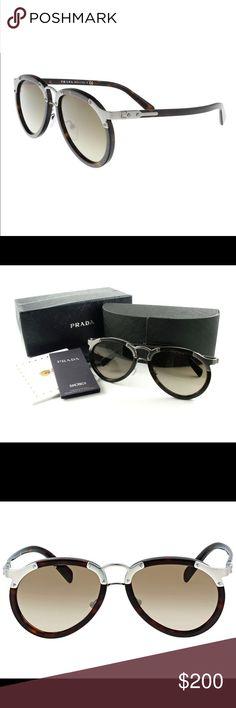 64cbc0e8969c Shop Men s Prada Brown size OS Sunglasses at a discounted price at Poshmark.  Description  Unworn new Prada unisex sunglasses.