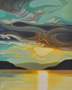 25 Feb 2020 - Erica Hawkes Archives - Page 2 of 5 - Grant Berg Gallery Abstract Landscape, Landscape Paintings, Abstract Art, Art Paintings, Landscapes, Painting Inspiration, Art Inspo, Art Grants, Canadian Art