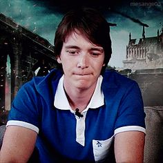 Phelps Twins, Oliver Phelps, Harry Potter Gif, Harry Potter Characters, Harry Potter World, Fred And George Actors, Fred And Hermione, Weasley Twins, Slytherin