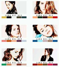 Lana Del Rey for Grazia Magazine #LDR #ColorGradiant
