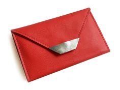 Handytaschen - Lederhülle mit Geldbörse für das iPhone - ein Designerstück von Erika-Szuecs bei DaWanda