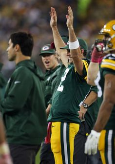 Aaron Rodgers: Minnesota Vikings v Green Bay Packers