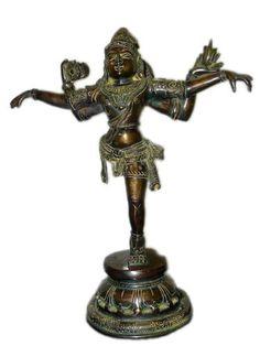 Nataraja Shiva Performs the Tandava Dance Oxidised Brass Sculpture by Mogul Interior, http://www.amazon.com/dp/B004WI601O/ref=cm_sw_r_pi_dp_3VA1pb08YTK8B