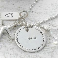 Get Your Name In Beautiful Style On Nick Name Silver Pendant Picture You Can Write