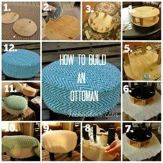 How I Made an Ottoman- and You Can Too