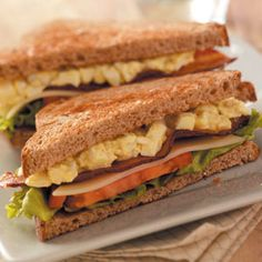 20 Favorite BLT Recipes                     -                                                   Put a new spin on a classic sandwich combination with these BLT recipes! Add bacon, lettuce and tomatoes to appetizers, salads, main dishes and more BLT-inspired dishes.