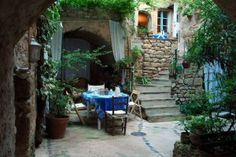La Cordiere in Lourmarin, France. Favorite place to stay for exploring Provence. Simple B and B, inexpensive.