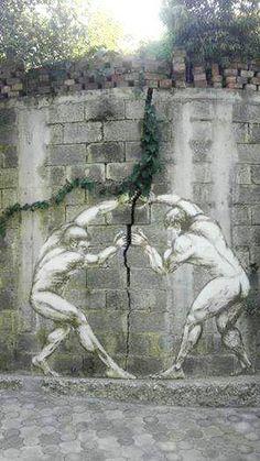 Graffiti Art Wall| Freedom Of Expression| Serafini Amelia| Creative Street Art