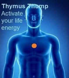 The Thymus Thump (also known as the happiness point) can help to neutralize negative energy, exude calm, revamp energy, supp...