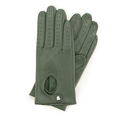Perforated driving gloves Women's driving gloves meticulously crafted from the highest quality sheepskin leather. This perforated design features keyhole front with a snap fastening at the wrist. Leather Handbags, Leather Wallet, Leather Bag, Suitcase Bag, Best Wallet, Driving Gloves, Green Christmas, Natural Leather, Backpack Bags