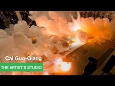 Drawing with Gunpowder by Cai Guo-Qiang - The Artist's Studio - MOCAtv