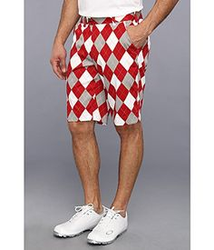 Loudmouth Golf Mens Red Gray White Short RedGrayWhite 34 11 * Continue to the product at the image link. Note:It is Affiliate Link to Amazon.