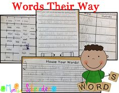 Friends~ Words their Way has been a challenge but with some help from a teacher friend, I am finally making it work! I am telling you, I was pulling my hair out trying to fit it all in! Now, I am just making it work in my classroom.