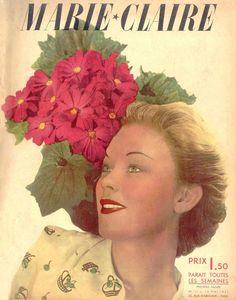 couverture vintage magasine marie claire 03 27 couvertures du magazine Marie Claire  divers design