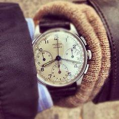 Hermes watch via @Habitually Chic