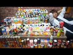 |Hajimeshacho| Японец смешал и попробовал все напитки из магазина (русск...