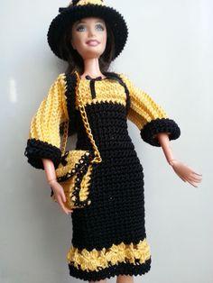 vêtement pour poupée mannequin Barbie (179)