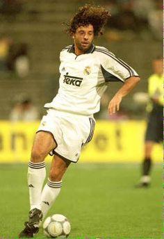 Ivan Campo(Spain)1998-2003 God Of Football, Football Players, Fotos Real Madrid, Real Madrid History, Real Madrid Cristiano Ronaldo, Real Madrid Players, Superstar, Champion, Spain