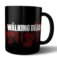 The Walking dead Best Friend Gifts, Gifts For Friends, The Alking Dead, Walking Dead Clothes, Gift Baskets For Women, Funny Cups, Mug Printing, Posca, Calla Lilies