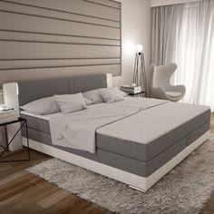Innocent Boxspringbett mit LED-Beleuchtung 180x200 cm »Bargo« ab 999,00€. Modernes Boxspringbett für Ihr Schlafzimmer bei OTTO