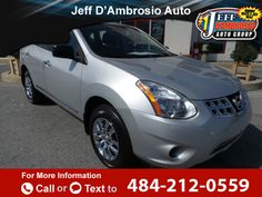 2012 *Nissan*  *Rogue* *S*  92k miles $11,399 92955 miles 484-212-0559 Transmission: Automatic  #Nissan #Rogue #used #cars #JeffDAmbrosioAutoGroup #Downingtown #PA #tapcars