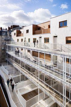 Vincent Parreira - AAVP ARCHITECTURE, Luc Boegly, Pierre L'Excellent · LESS