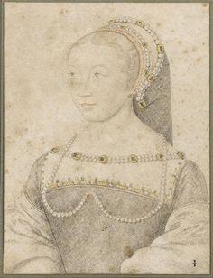 Portrait de Anne de Pisseleu, par François Clouet