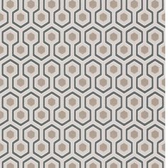 Contemporary Restyled  - Hicks Hexagon - 95-3016 Cole & Son behang wallpaper behangpapier behang woonkamer behang slaapkamer interieur design