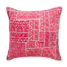pink thar desert textile