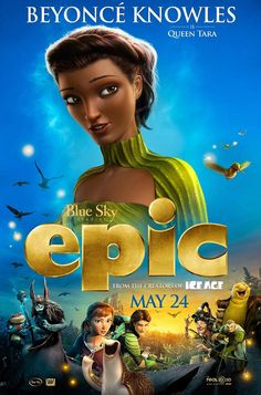First look at Beyonce's Queen Tara in new animated film Epic | Mail Online