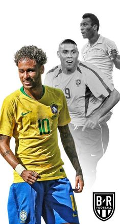 Pelé,Ronaldo Neymar Brazil Players, Brazil Football Team, Brazil Team, Football Soccer, Ronaldo, World Cup Russia 2018, Soccer World, Neymar Jr, Football Players