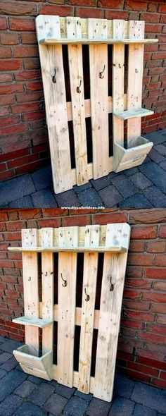 Ideas of Pallet Wood Creations And Projects pallet ideas, pallet projects, pallet furniture, diy pallet and Ideas of Pallet Wood Creations And ProjectsWooden creations pla Wooden Pallet Shelves, Wood Pallet Tables, Pallet Chair, Wooden Pallets, Wooden Diy, Pallet Wood, Diy Pallet, Wooden Chair Plans, Wooden Couch