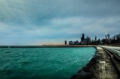 Week 14 - Chicago at Dawn by alyshathompson, via Flickr