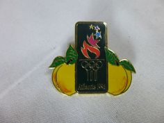 1996 Atlanta Olympics Pin 100 Peaches